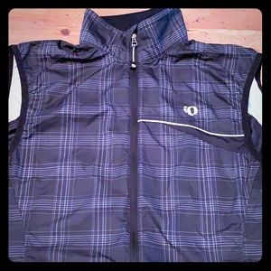 Pearl Izumi zippered vest mesh back w pocket